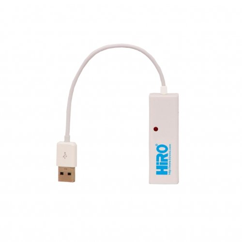 HiRO H50223 USB 2.0 to Fast Ethernet LAN 10/100Mbps Portable Network Adapter Windows 10 8.1 8 7 Vista XP 32-bit 64-bit Mac OS X 10.5 Compatible