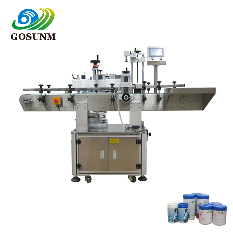 Sticker automatische label plakken pvc label dispenser machine