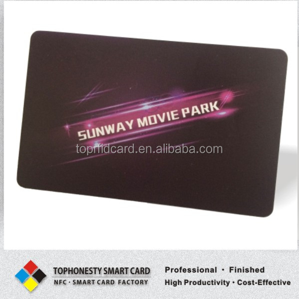 Factory Busienss Card Printing Smart Business Card NFC RFID Business Card Print Serive Free Design And Sample