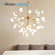 Indoor Decoration energy saving fancy lighting modern chandelier light modern chandelier pendant light