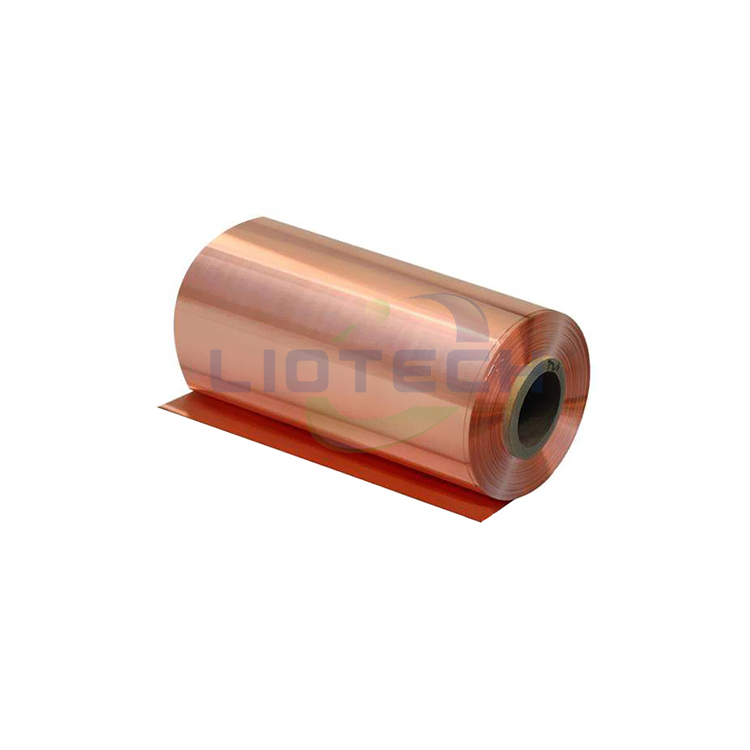 Battery Grade 8um Thickness Lithium Pure Copper Foil For Anode