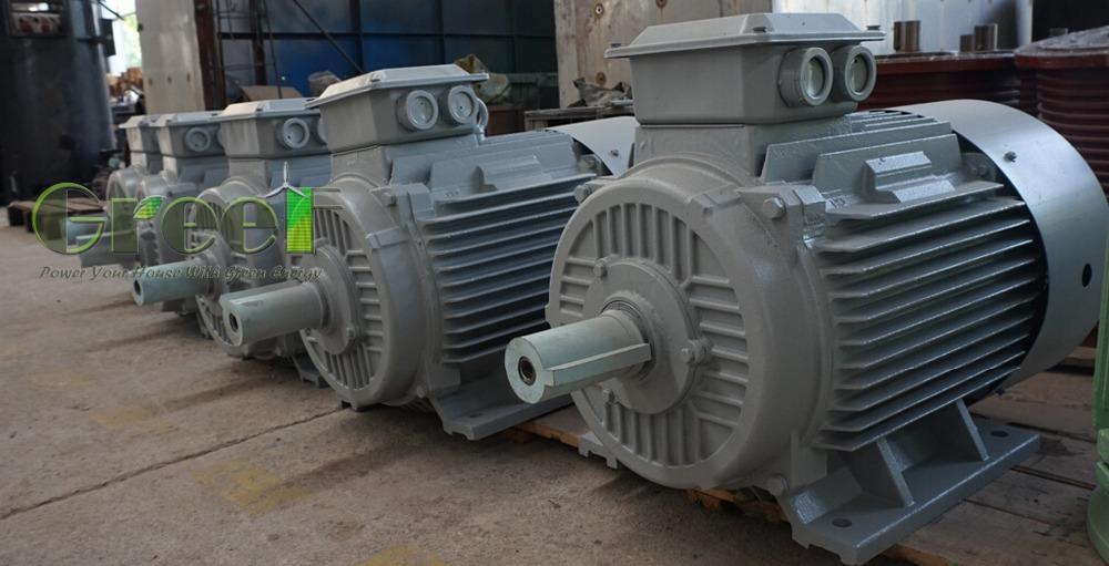 50 rpm permanent magnet alternator generator 20kw for Permanent magnet motor generator sale