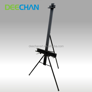 High Quality Aluminum Telescoping Display Portable Table Metal Easel Stand