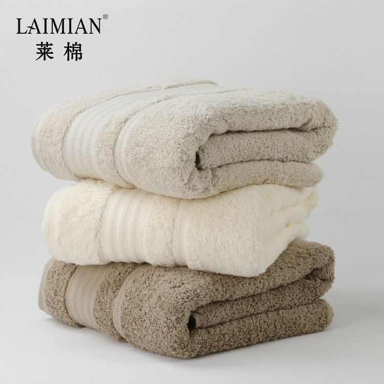 Top quality personalized white color comfortable custom print combed cotton hand towel with logo