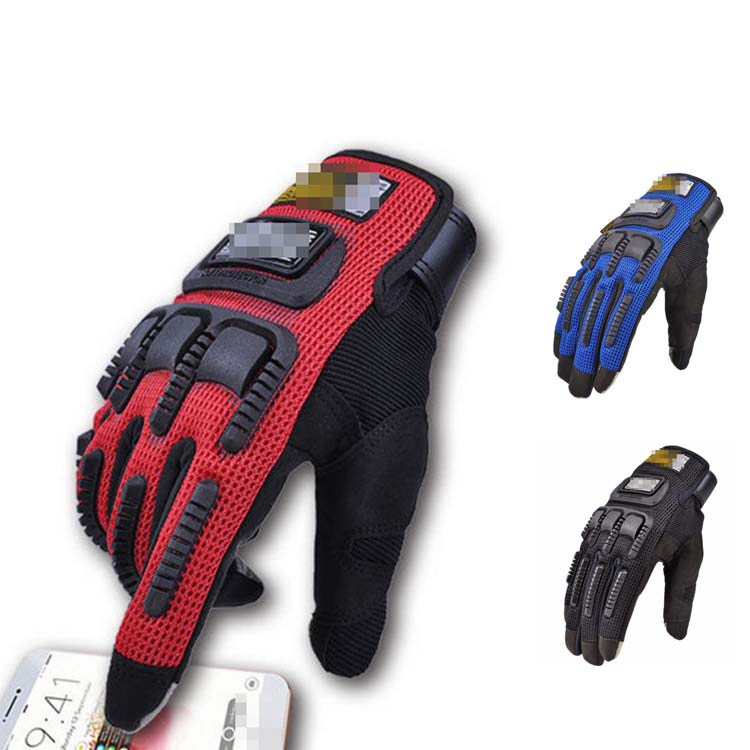 Pro biker Touch Screen Motorcycle gloves riding motorcycle riders protective gloves full finger off road gloves