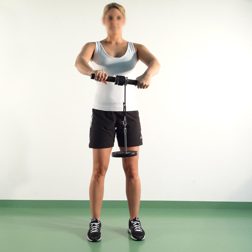 Buy Wrist Forearm Rotation Muscle Developer Power Wrist Hand Gripper