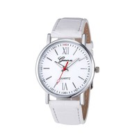 Free shipping geneva watches wholesale for promotion 100pcs per lot cheap price
