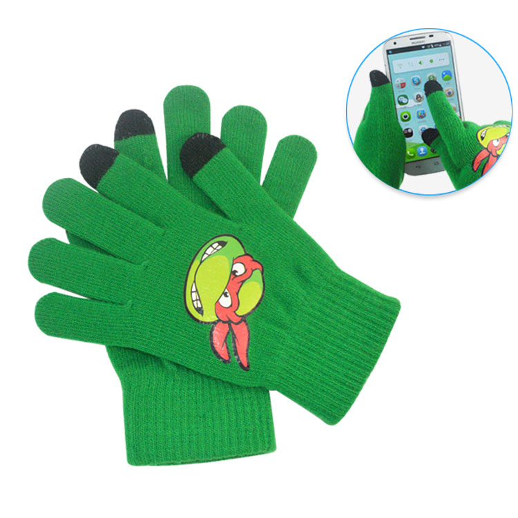 best selling wholesale cheap softtextile touch screen glove for women