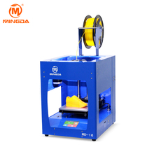 Chinese 3d printer at Factory price, MINGDA MD-16 3 D printer for house use, school, office