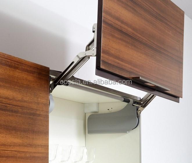 Vertical Lift Kitchen Cabinet Door Hardware Buy Lift Up Cabinet Door Hardware Kitchen Lift System Flap Stay Mechanism Product On Alibaba Com
