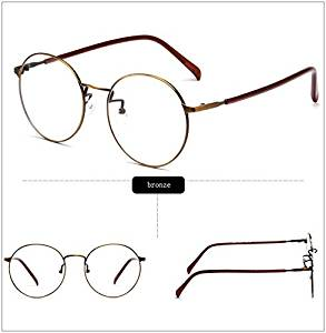 b726f4ede5 Buy Cloudings(TM)Metal Round Frame Glasses With Clear Lens