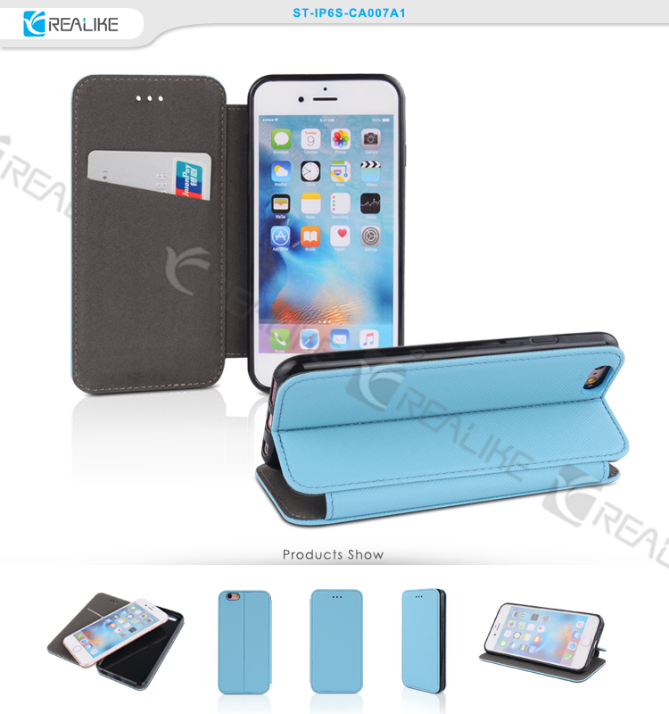 Hot selling product case folio case 6s accessories for iphone leather