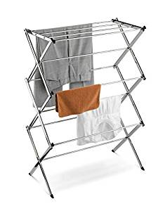 Home-it Folding Clothes Drying Rack, Laundry Drying Rack for Clothes Rack, Gray