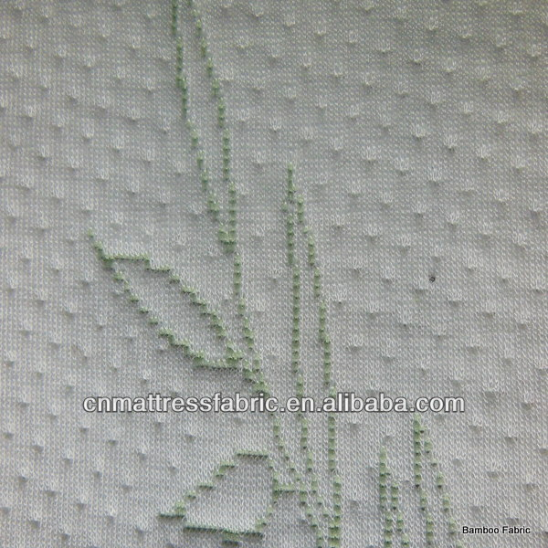 Bamboo Mattress fibre fabric mix with Polyester yarn