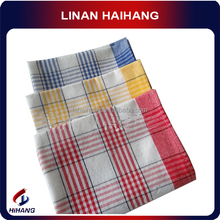 China manufacturer OEM best quality and reuse grid no fade cotton & linenkitchen cleaning cloth