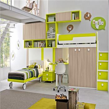 Ordinaire Simple Design Kids Home Furniture Children Bedroom Sets Lovely Kids Room  Wardrobe With Study Table   Buy Portable Wardrobe,Kids Plastic ...