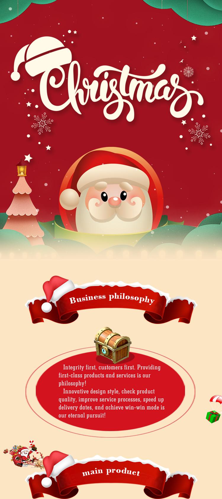 2019 Amazon hot sale 45cm handmade Christmas decoration garland, indoor decorative Christmas wreath manufacturer