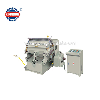 ML-930H semi-automatic die-cutting machine with heating plate