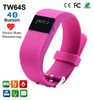 TW64S Bluetooth Waterproof Smart Watch Bracelet Pedemeter Sleep Heart Rate Monitor Wristband for iPhone Android Phone Smartband