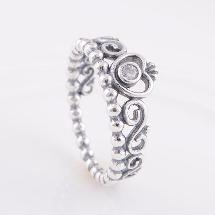 b9af6483e italy queen silver ring pandora 3de8f 2a146