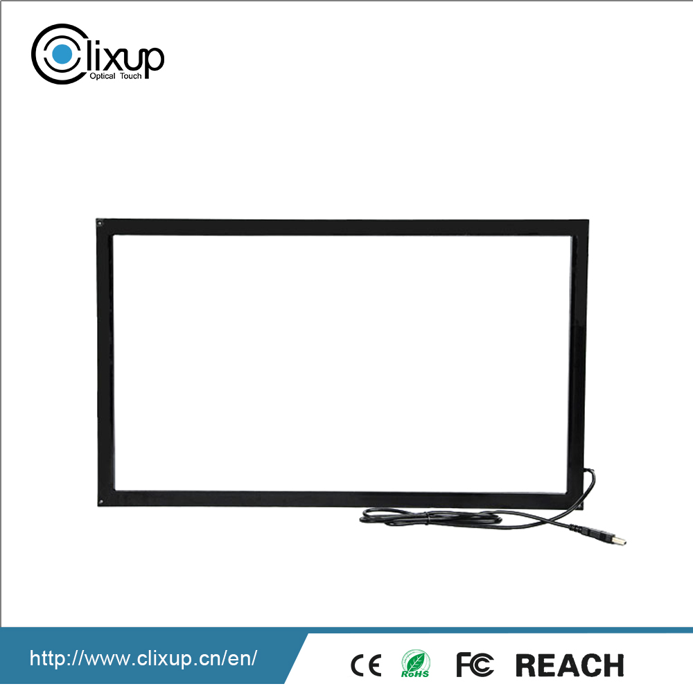 Highly Integrated game interactive monitor multi finger touch screen panel frame