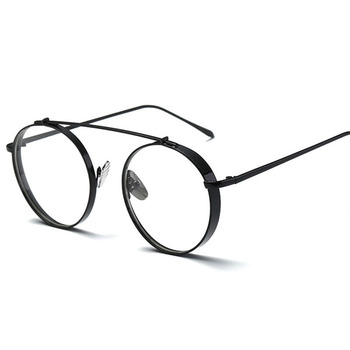 8fd81dcd58 8064 New Women Vintage Glasses Frame Plain Mirror Metal Optical Frame For  Girl Eyeglass Lens Round