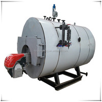 Full automatic excellet service WNS horizontal oil burning steam boiler/ industrial gas fired oil fired steam boiler