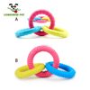 Funny Ring Shape TPR Interactive Play Dogs Toys Chew Safe Toys For Dogs