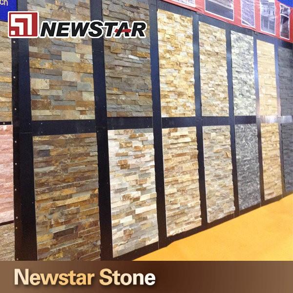 Construccion de material natural piedra revestimiento de - Material construccion barato ...