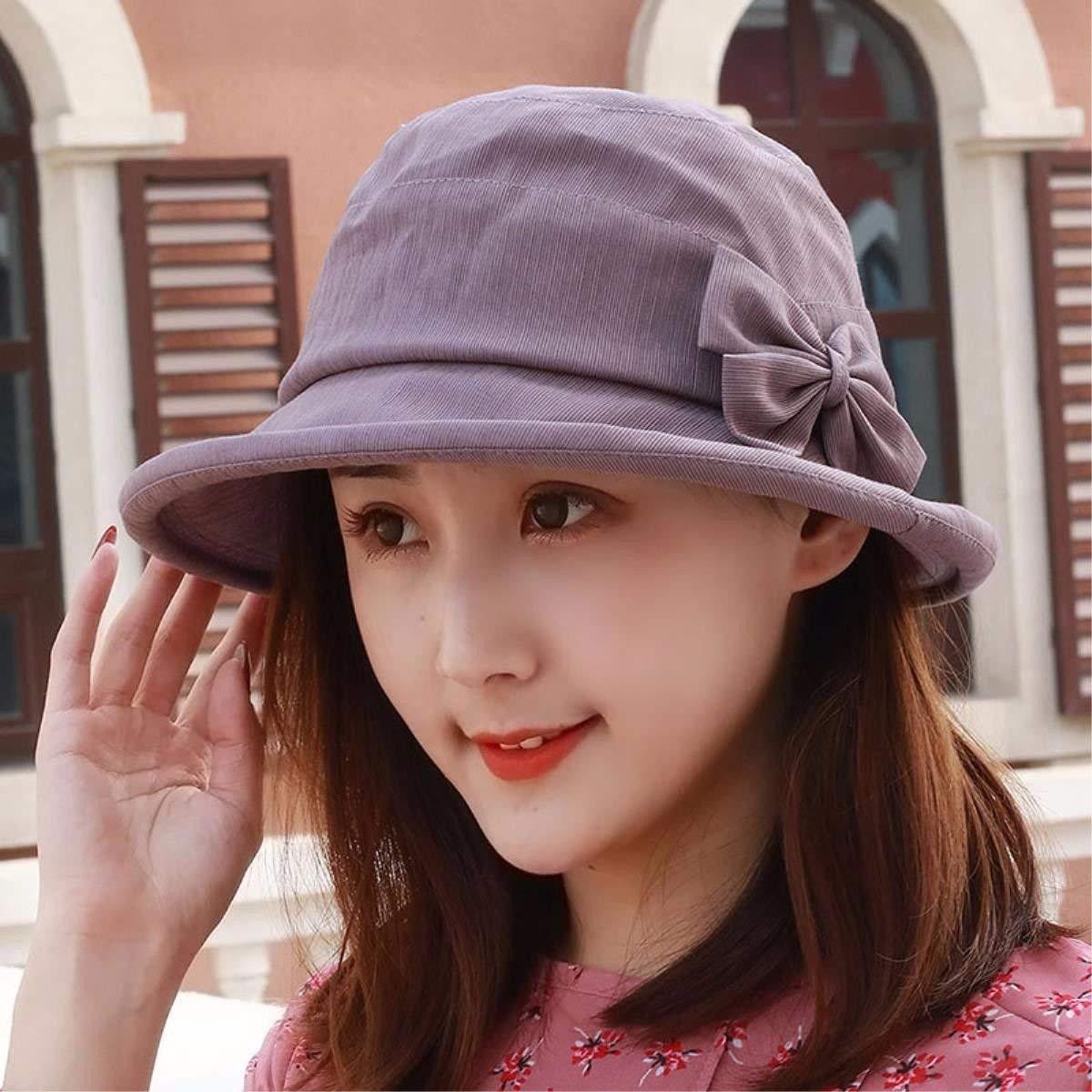 a7600587880 Get Quotations · LONFENN Ladies Women Hats Spring Summer Yarns Cap The Cap  Basin Cap Outdoor Hat Fashion Cap