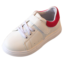 2016 children shoes hot selling male female child casual low four seasons single shoes