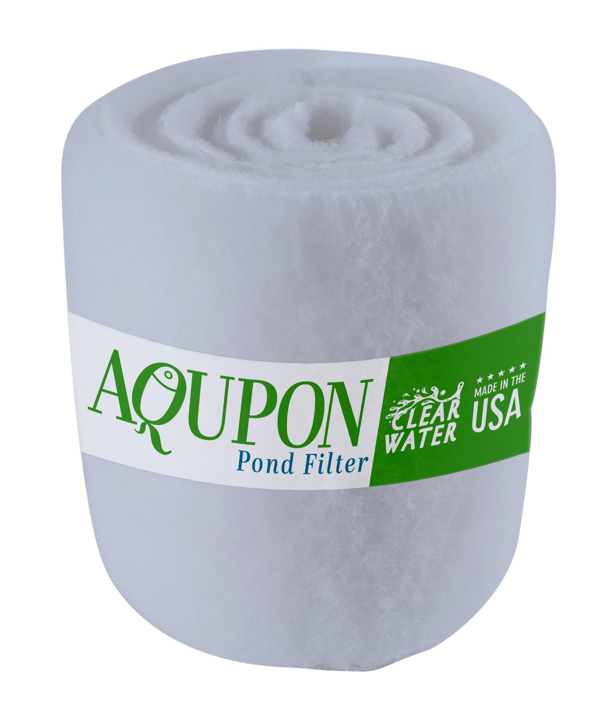 15 Foot x 12 inch x 1 inch 15 FEET Spray Bonded High-Lofted Polyester Air Filter Media Roll