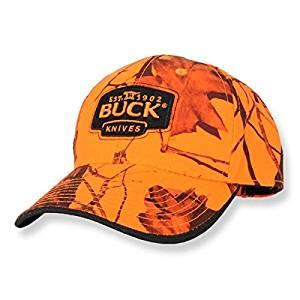 Get Quotations · Buck Mossy Oak Blaze Orange Hat 2763324b5296