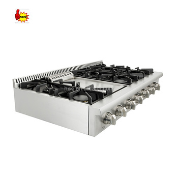 Hyxion high quntity gas cooker top / range top / gas cooking stove