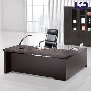 General De Diseño Mesa De Oficina Escritorio Jefe Con Mesa Auxiliar  (sz-od352) - Buy Escritorio Jefe,Jefe Escritorio Con Mesa Auxiliar,Oficina  De ...