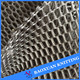 100%polyester big hole 3d spacer mesh fabric fashional dress material