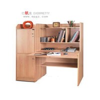 NEW design kids home study desk with storage cabinet,