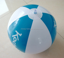 "16"" PVC inflatable beach ball with EN71 test"