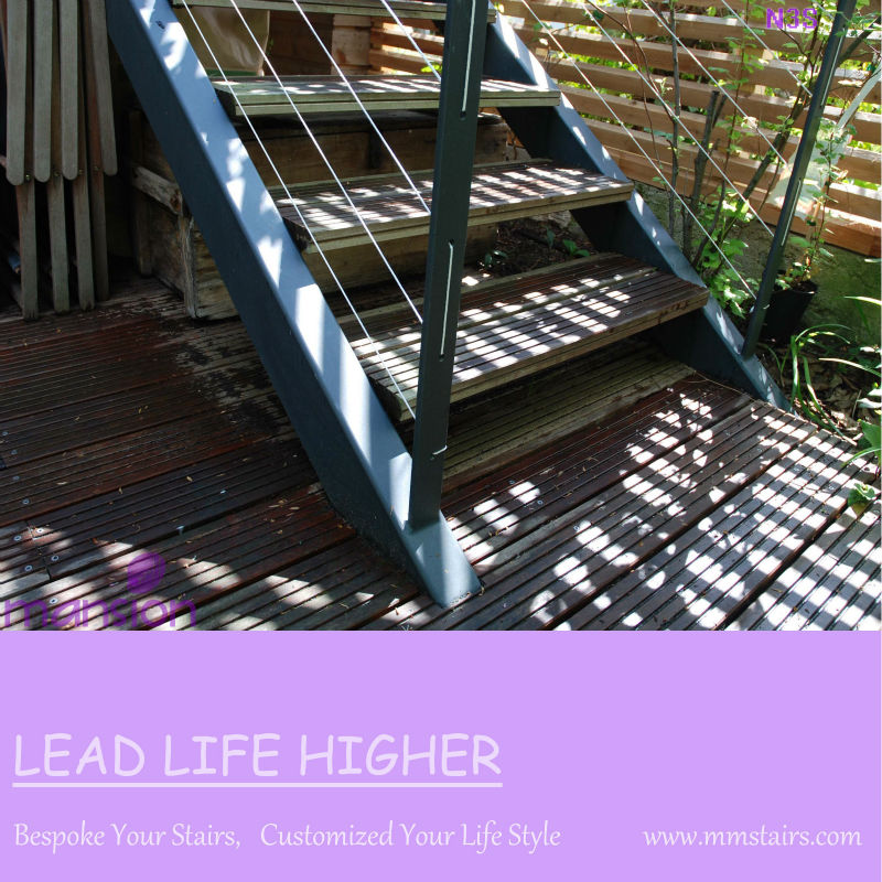 Prefab Steel Structure Outdoor Stairs