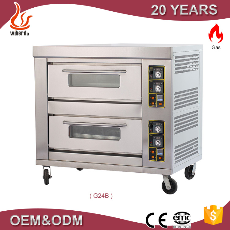 Industrial gas ovens for cake baking cooker with oven by China supplier