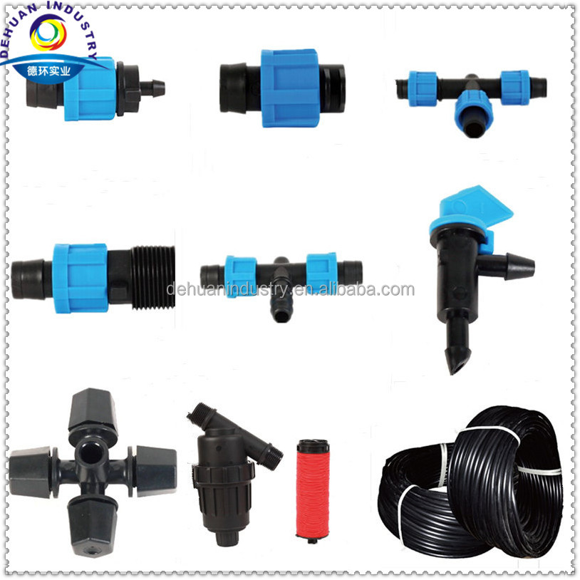 Drip Irrigation Tape Fitting/Male Thread Coupling for Tape