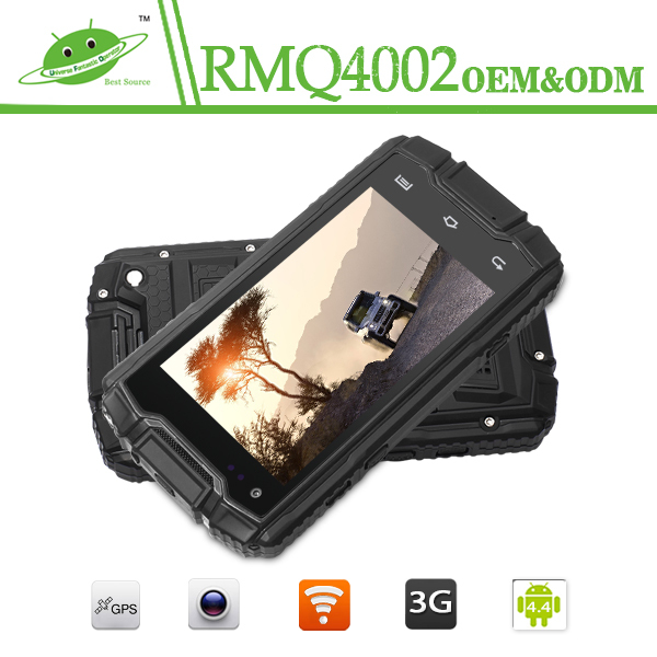 Strong dropproof smartphone IP68 NFC WIFI 3G 2G 4inch MTK6582M waterproof mobile Land Rover