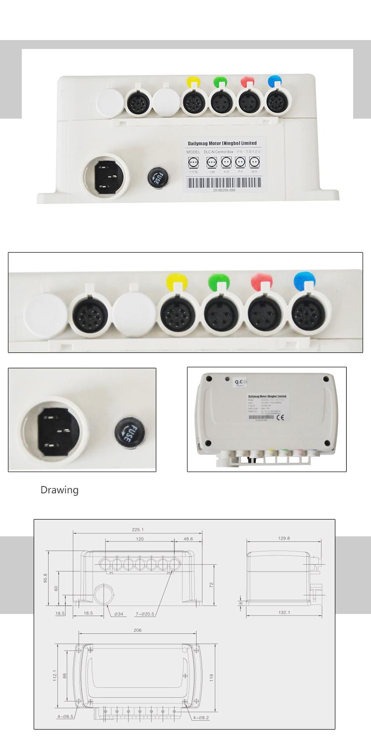 DLC-D Electrical Control 상자 대 한 Linear Actuator