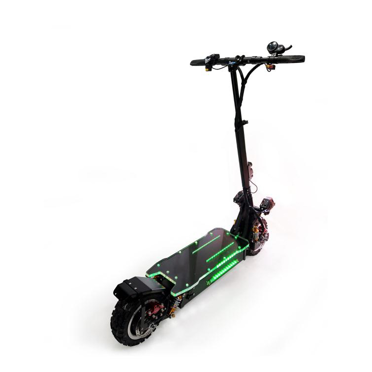Maike KK4S dual motor electric scooter off road 60v 30ah 3200w foldable city coco fat tire adult electric scooter