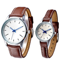 High quality with Walmart and Avon Audit PU leather Couple Watch
