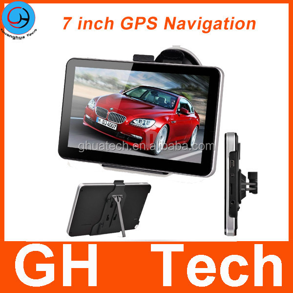High Accuracy 7 inch GPS Navigation for Truck Car Taxi with Multi Medias
