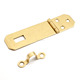 Craft Jewelry Cigar Wooden Box Latch Brass Hasp Miniature Hardware