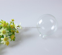 china cheap clear new stylish design christmas decoration high borosilicate custom glass ball ornament