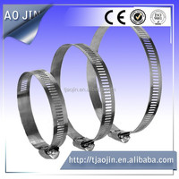 Standard Standard or Nonstandard and Wave Clamp,swivel Structure stainless steel304 corrugated european style hose clamp