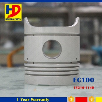 EC100 Engine 97mm Piston Fit For Hino Parts OEM 13216-1140